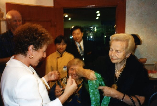 Beijing Birthday with Helvi Sipila, Secretary General of 1975 UN World Conference for Women
