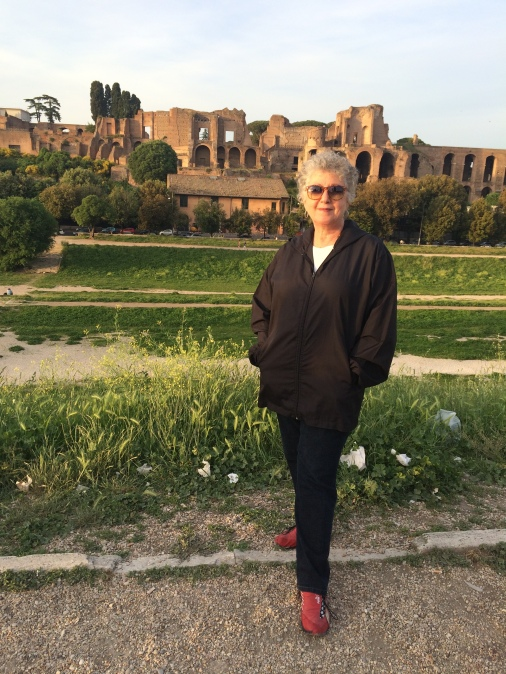May 2015 - Marian Rivman in Rome