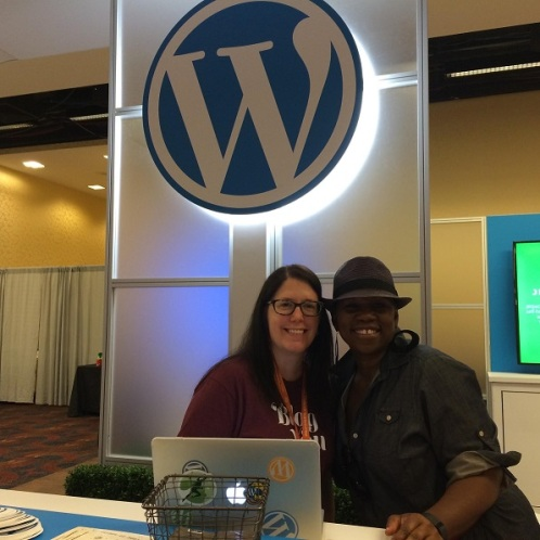 Carolyn Sonnek, WordPress and my mentor, Debbie Mitchell of Deborah Mitchell Media Associates