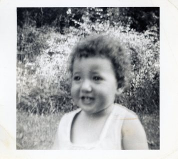 Marian Rivman at two years old