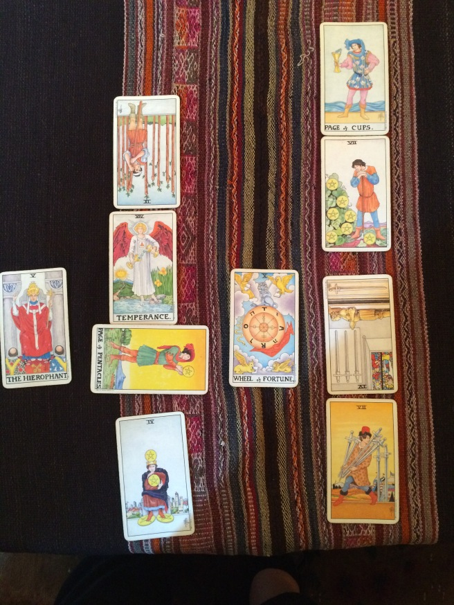 Marian Rivman's Tarot card reading