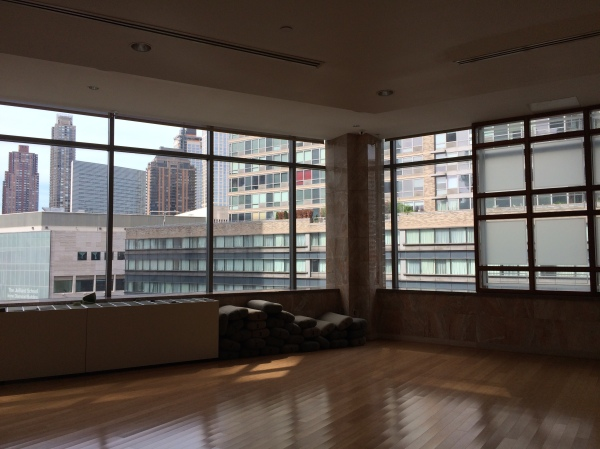 Yoga studio at Equinox Sports Club New York