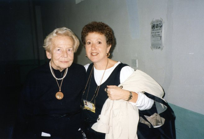 Beijing 1995 - Hilvi Sipila, Secretary General of the Second World Conference on Women and Marian Rivman