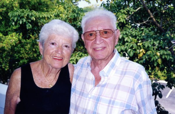 2000: Julia and Nathan Rivman in Florida